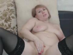 Amazing Chubby Busty Bazaar Milf Masturbates