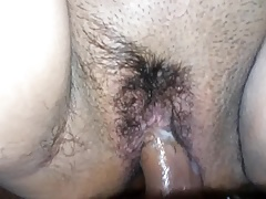 Creampie overhead my girlfriend Victorian wet pussy