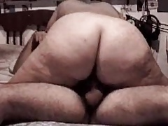 BBW cow girl and reversal cow girl till creampie