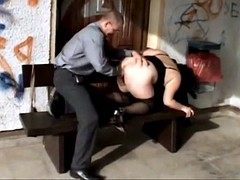 fat german call-girl Judith outdoor 2