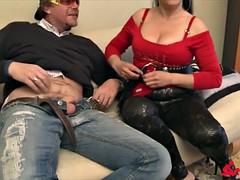 ScambistiMaturi - Mature Italian swinger enjoys hardcore lovemaking