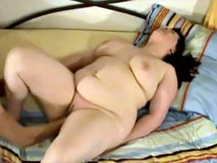 Fat BBW fuckfriend with shaven pussy fucked hard-2
