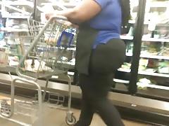 Shopping for ass (Sexy BBW VPL)