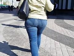 Big fat MILF's ass