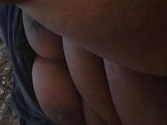 Big titty black bbw granny