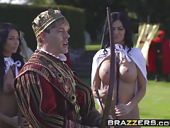 Brazzers - Storm Of Kings Grotesque imitation Part Anissa Kate