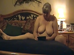 Kim loves masturbating.