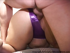Anal Mexican BBW Granny Gets DP