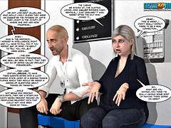 3d comic: a difficulty chaperone. episodes 105-106