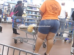 Huge Country Booty Light-Skin Jeans Shorts