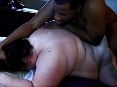 Kristy Alley (QoS) taking 10 inch BBC balls Abysm