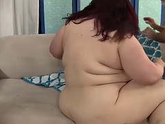 redhead plumper spitroasted near threesome