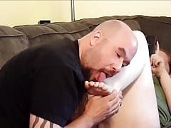 Licking Feet, Sucking Toes, and Eating Pussy- Cheating