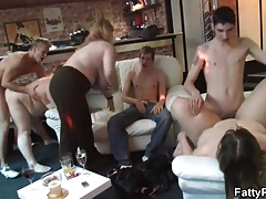 Welcome helter-skelter big tits bbw gangbang party!