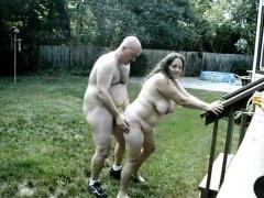 Couple Fucks Reversed The Garden
